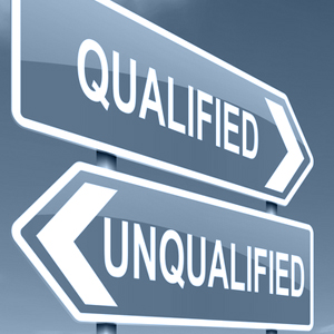 qualified-unqualified