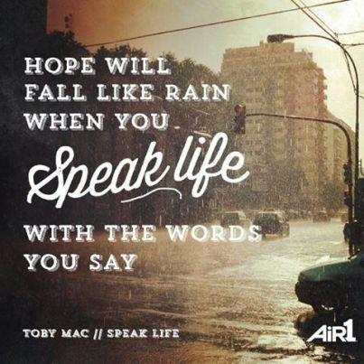 speak-life